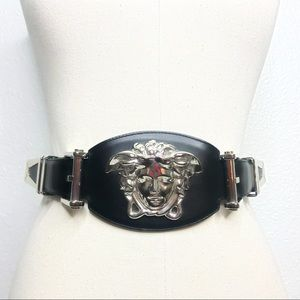 Versace XL Medusa Head Belt *RARE*
